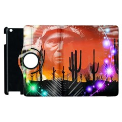 Ghost Dance Apple iPad 2 Flip 360 Case