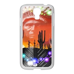 Ghost Dance Samsung GALAXY S4 I9500/ I9505 Case (White)