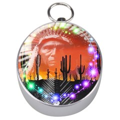 Ghost Dance Silver Compass