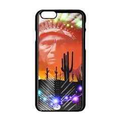 Ghost Dance Apple iPhone 6 Black Enamel Case
