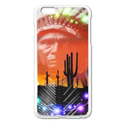 Ghost Dance Apple iPhone 6 Plus Enamel White Case