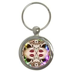 Magic Spell Key Chain (round)