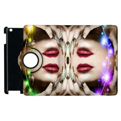 Magic Spell Apple iPad 3/4 Flip 360 Case