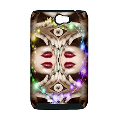 Magic Spell Samsung Galaxy Note 2 Hardshell Case (PC+Silicone)