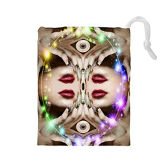 Magic Spell Drawstring Pouch (Large)