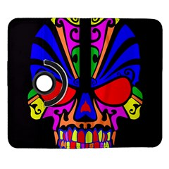 Skull In Colour Samsung Galaxy Note II Flip 360 Case