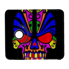 Skull In Colour Samsung Galaxy S  III Flip 360 Case