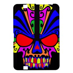 Skull In Colour Kindle Fire Hd 8 9  Hardshell Case