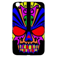Skull In Colour Samsung Galaxy Tab 3 (8 ) T3100 Hardshell Case