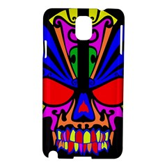 Skull In Colour Samsung Galaxy Note 3 N9005 Hardshell Case