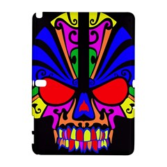 Skull In Colour Samsung Galaxy Note 10.1 (P600) Hardshell Case