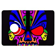 Skull In Colour Kindle Fire Hdx Flip 360 Case