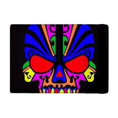 Skull In Colour Apple Ipad Mini 2 Flip Case