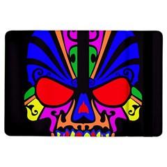 Skull In Colour Apple Ipad Air Flip Case