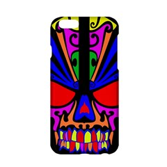 Skull In Colour Apple iPhone 6 Hardshell Case