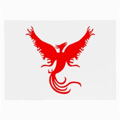 Phoenix Rising Glasses Cloth (large, Two Sided)