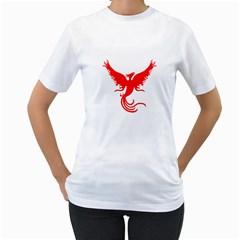 Phoenix Rising Women s T-Shirt (White)