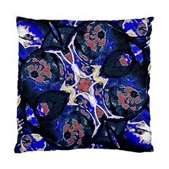 Decorative Retro Floral Print Cushion Case (two Sided)