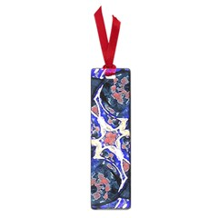 Decorative Retro Floral Print Small Bookmark