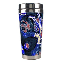 Decorative Retro Floral Print Stainless Steel Travel Tumbler