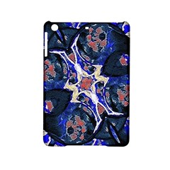 Decorative Retro Floral Print Apple iPad Mini 2 Hardshell Case