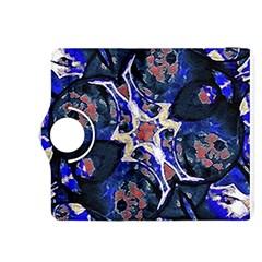Decorative Retro Floral Print Kindle Fire HDX 8.9  Flip 360 Case