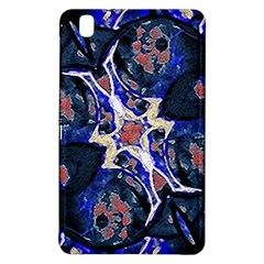 Decorative Retro Floral Print Samsung Galaxy Tab Pro 8 4 Hardshell Case