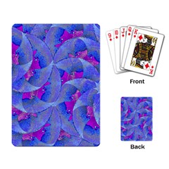 Abstract Deco Digital Art Pattern Playing Cards Single Design