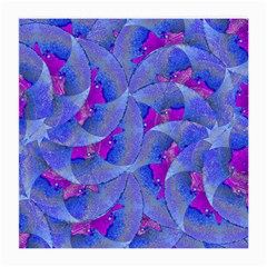 Abstract Deco Digital Art Pattern Glasses Cloth (Medium, Two Sided)