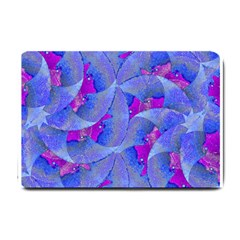 Abstract Deco Digital Art Pattern Small Door Mat