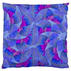 Abstract Deco Digital Art Pattern Large Cushion Case (two Sided)