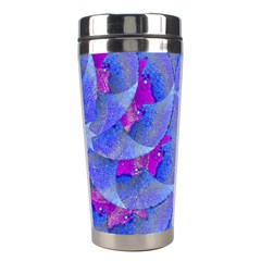 Abstract Deco Digital Art Pattern Stainless Steel Travel Tumbler