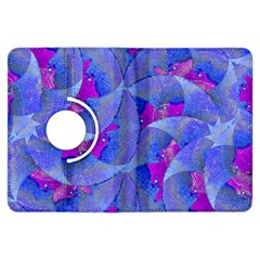 Abstract Deco Digital Art Pattern Kindle Fire HDX Flip 360 Case