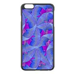 Abstract Deco Digital Art Pattern Apple iPhone 6 Plus Black Enamel Case