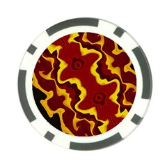 Tribal Summer Nightsdreams Pattern Poker Chip