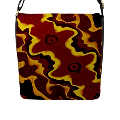 Tribal Summer Nightsdreams Pattern Flap Closure Messenger Bag (large)