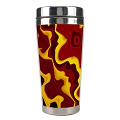 Tribal Summer Nightsdreams Pattern Stainless Steel Travel Tumbler