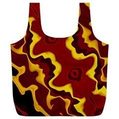 Tribal Summer Nightsdreams Pattern Reusable Bag (xl)