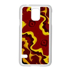 Tribal Summer Nightsdreams Pattern Samsung Galaxy S5 Case (White)