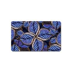 Fantasy Nature Pattern Print Magnet (Name Card)