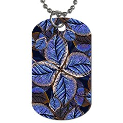 Fantasy Nature Pattern Print Dog Tag (one Sided)