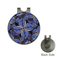 Fantasy Nature Pattern Print Hat Clip With Golf Ball Marker