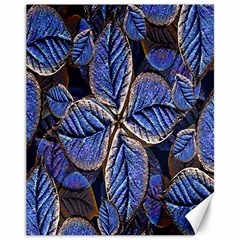 Fantasy Nature Pattern Print Canvas 11  X 14  (unframed)