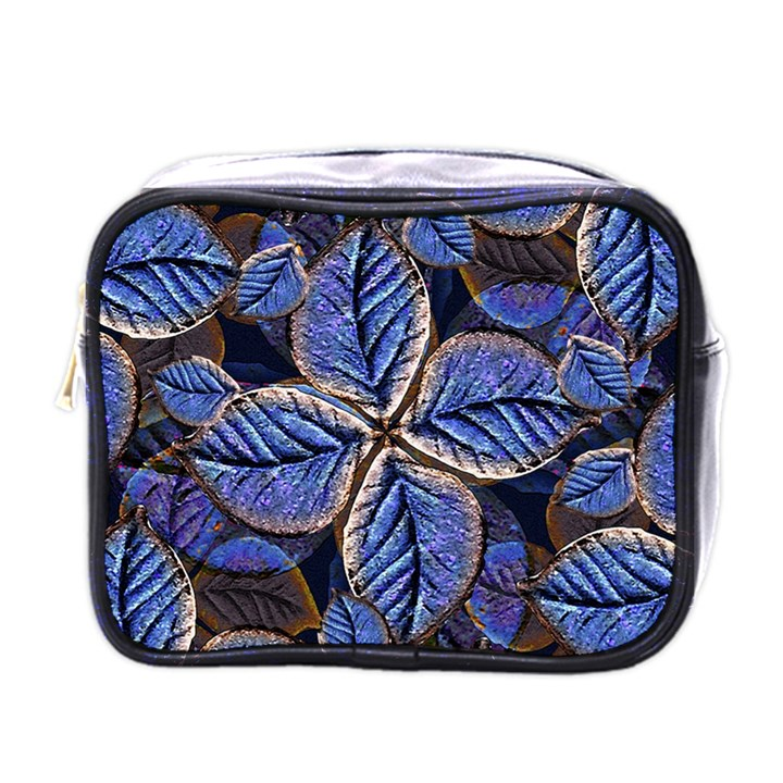 Fantasy Nature Pattern Print Mini Travel Toiletry Bag (One Side)