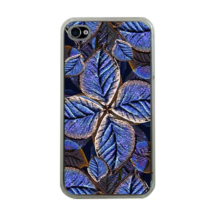 Fantasy Nature Pattern Print Apple iPhone 4 Case (Clear)