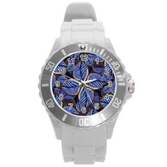 Fantasy Nature Pattern Print Plastic Sport Watch (large)