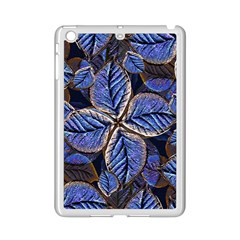 Fantasy Nature Pattern Print Apple iPad Mini 2 Case (White)