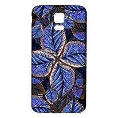 Fantasy Nature Pattern Print Samsung Galaxy S5 Back Case (White)