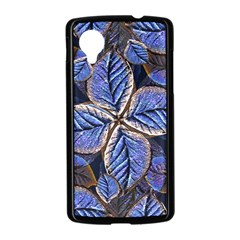 Fantasy Nature Pattern Print Google Nexus 5 Case (Black)