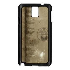 Declaration Samsung Galaxy Note 3 N9005 Case (Black)